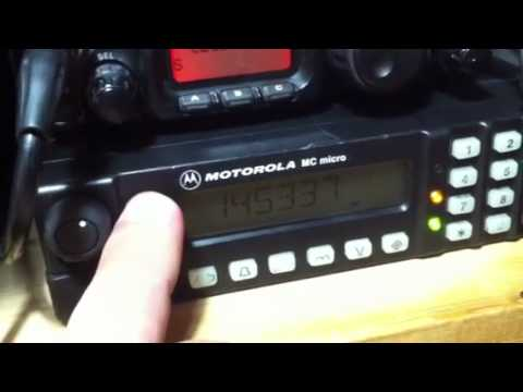 Motorola MC Micro with HAM Firmware by DG1YFE