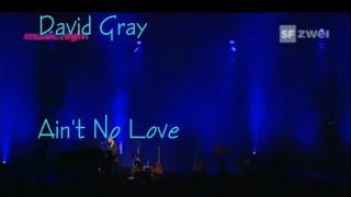 David Gray  Ain`t  No Love