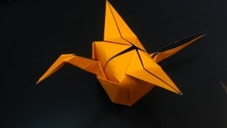 Origami Crane Party Hat Tutorial (by Tim Rickman)