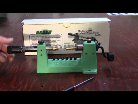 WBR. Video 125. Redding Model 2400  Cutter Operation