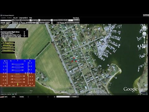 DJI PC Groundstation Tutorial and live test on the field