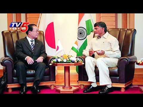 Japanese firms see big business in Andhra Pradesh : TV5 News
