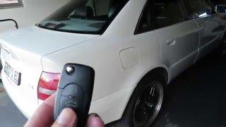 Audi A4 B5 Keyfob window trick