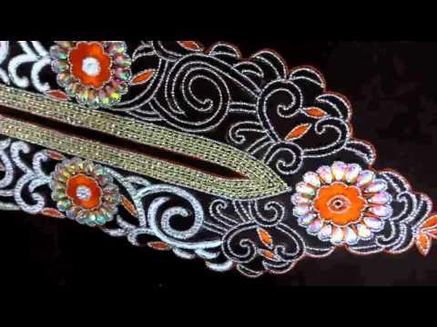 punjabi suit hand work design