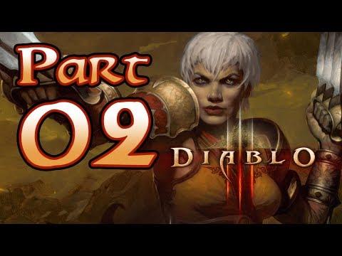 Diablo 3 III Gameplay – Monk Class Pt 2