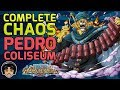 Walkthrough for Complete Pedro Chaos Difficulty Coliseum! [One Piece Treasure Cruise]