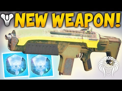 Destiny 2: NEW ENGRAM WEAPON! Refrain 23 Suros Auto Rifle, Bonus Damage Perk & Secret Cryptarch Room
