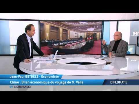Diplomatie: Chine, bilan économique du voyage de Manuel Valls