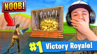 EPIC TRAP TROLL in Fortnite: Battle Royale! (CRAZY)