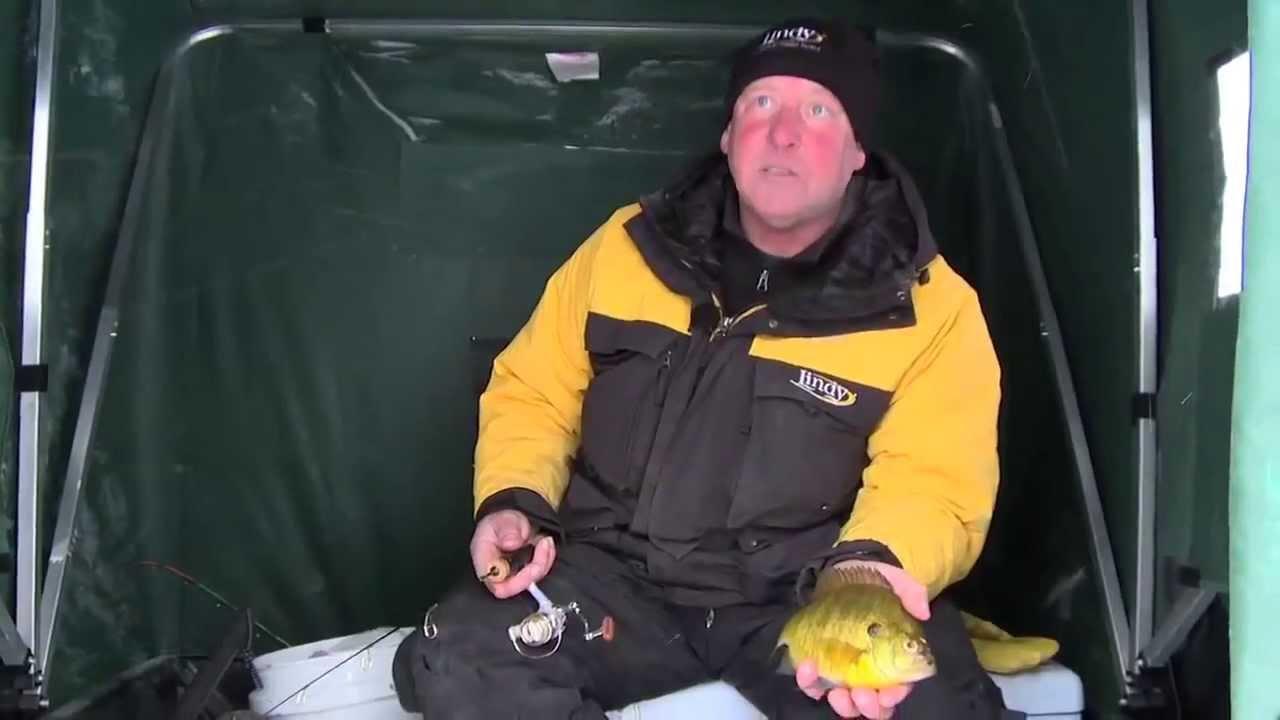 Fish Ed    Ice Fishing for Big Bluegill