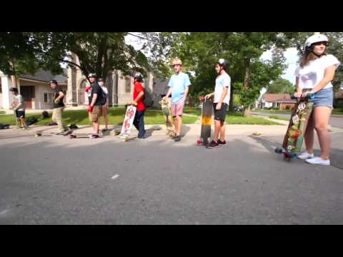 Side Street Surfing - Thorold - 1 Year Anniversary Skate - July 28, 2014