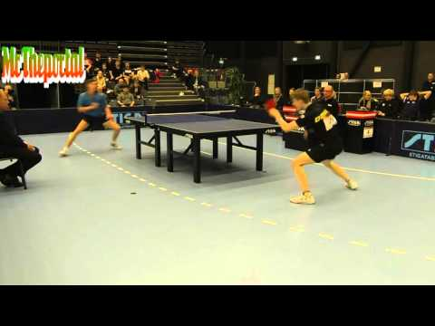 Table Tennis Danish Youth Championships 2016 - Andreas Dilling Vs Andres Lind -