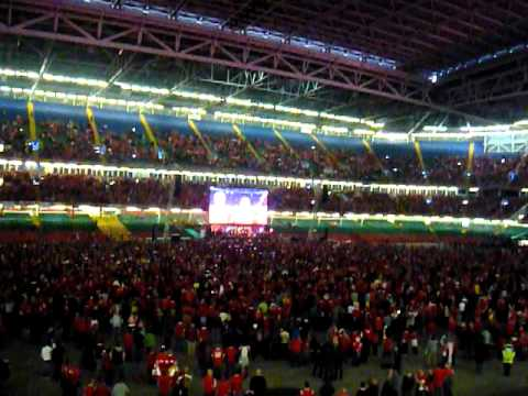 Wales v France [RWC] Anthem - Millenium Stadium