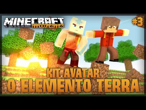HardCoreGames: Kit Avatar #3 - O Elemento Terra!