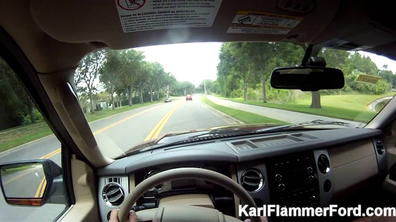 King Ranch Ford >> Drive One 4 UR School: Ford Expedition test drive (1st person POV) - YouTube