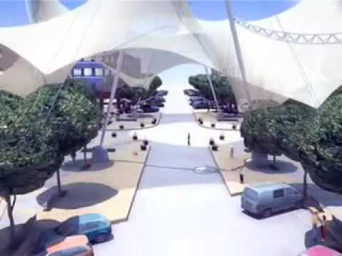 Skate Park Shade Canopy By Tension Structures