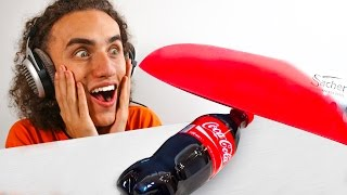 1000 DEGREES GLOWING KNIFE vs. COCA COLA! 😱😱😱 (Reaction)