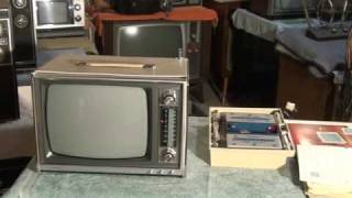 Zenith's very first transistor Television set, royal 1290 from 1966