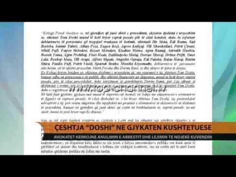 Avokatët e Doshit: Të rikthehet në Parlament - Top Channel Albania - News - Lajme