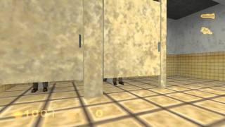 Half-Life (PS2) - Toilet Scientists Conversation Easter Egg