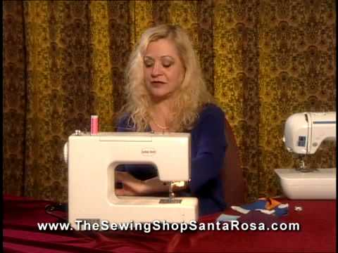 Sewing Machine Demo Part 1