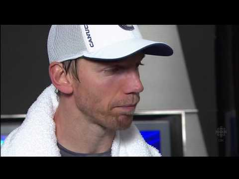 Mikael Samuelsson Interview - Canucks Vs Kings - R1G5 2010 Playoffs - 04.23.10 - HD