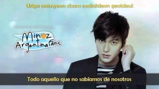 Lee Min Ho ~ Without You ~ Sub Español & Romanización