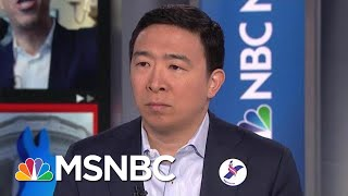 Democratic Pres. Candidate Yang Makes Case For Universal Basic Income | Velshi & Ruhle | MSNBC