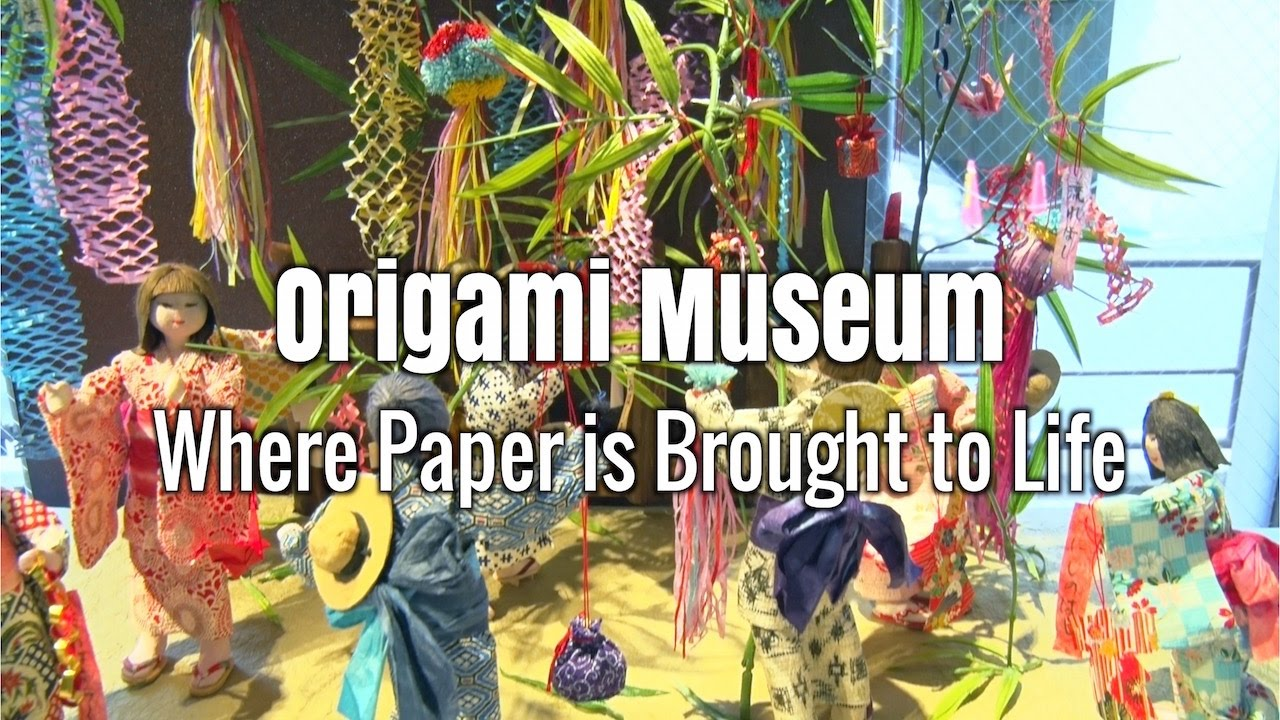 Origami Museum : Where Paper is Brought to Life