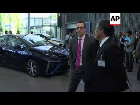 Toyota to sell emissions-free, hydrogen-powered vehicles