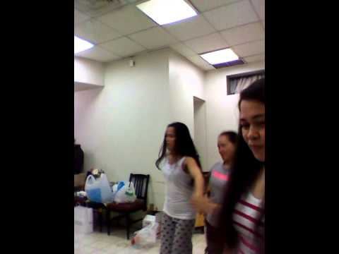 Practice Dancing....kuwait Girls... video