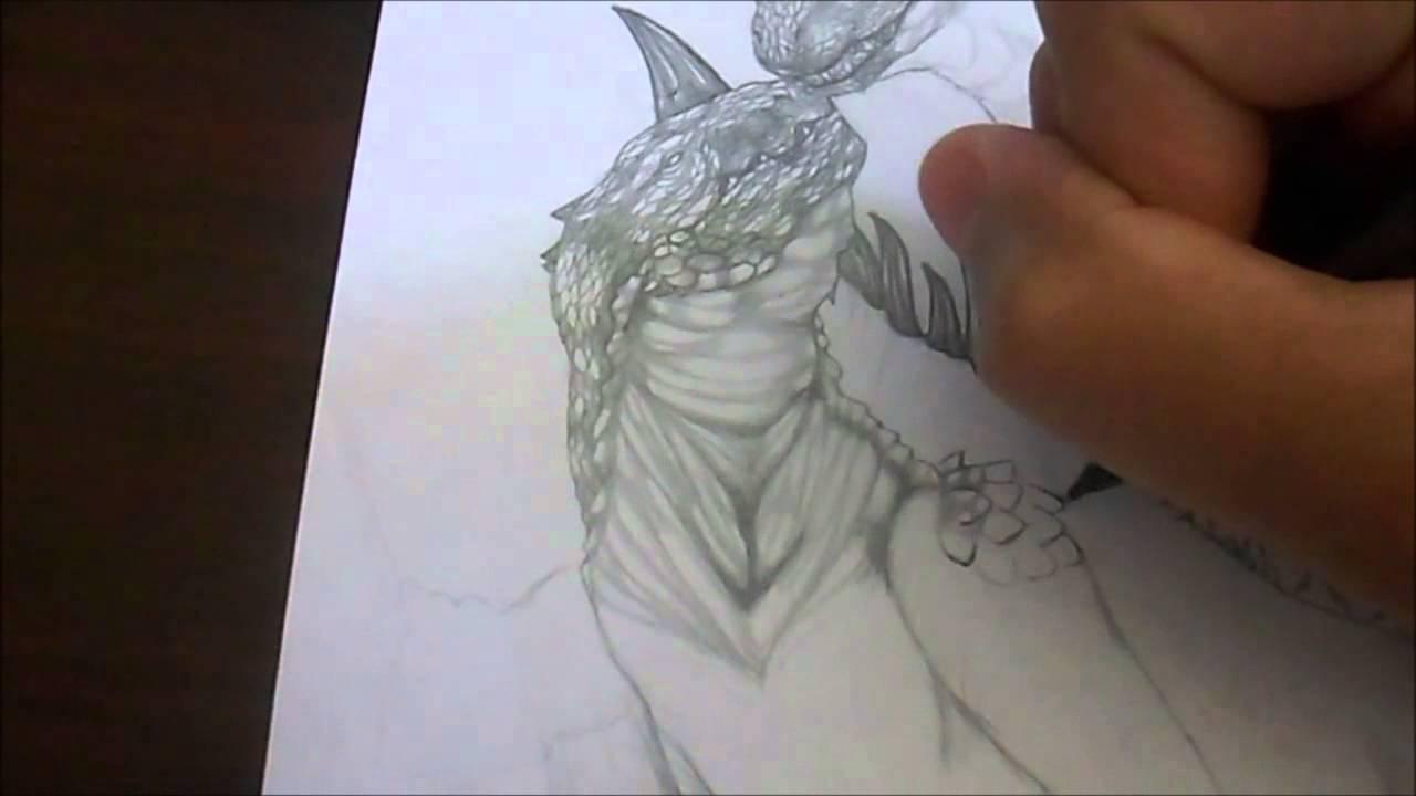 how to draw godzilla 2014