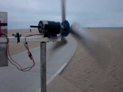 DIY Wind Turbine - Permanent Magnet Generator - YouTube