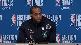 Kawhi Leonard Postgame Interview - Game 5 | Raptors vs Bucks | 2019 NBA Playoffs