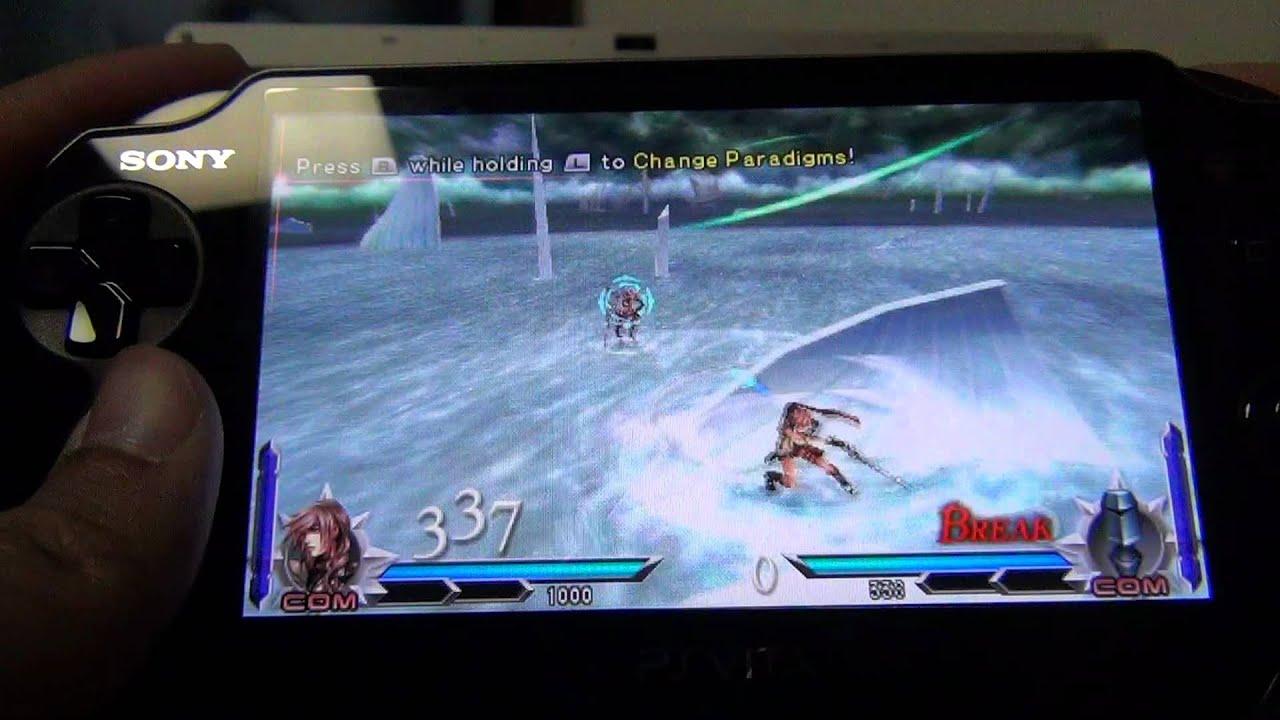 PS Vita - Dissidia 012 [Duodecim] Final Fantasy - YouTube