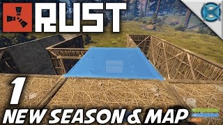 Rust   EP 1   New Season & Map   Let's Play Rust Gameplay (S-8)