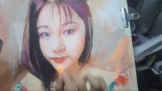 Học Vẽ Online AZ - Cách vẽ tranh /phấn tiên/pastel drawing