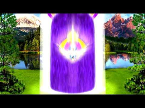 Llama Violeta en acción