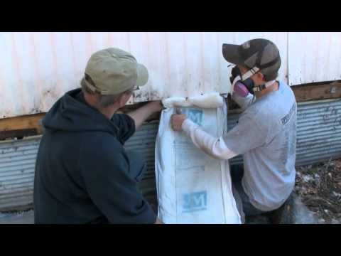 Mobile Home Series Insulating The Walls Youtube