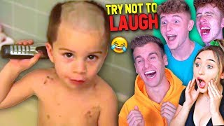 Try Not To Laugh Challenge Ft. Infinite Lists, Kiera, Tomo