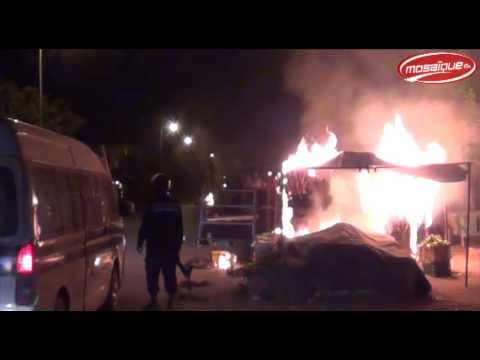 image vidéo  إشتباكات مع الأمن والسلفين في دوار هيشر