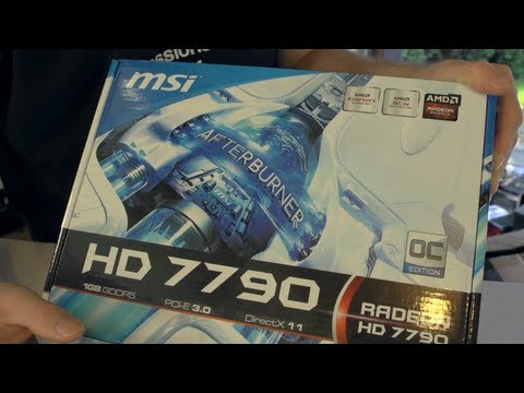 MSI Radeon HD 7790 Unboxing & Overview