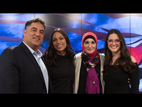 Rosario Dawson, Linda Sarsour & Nomiki Konst - Full TYT Interview