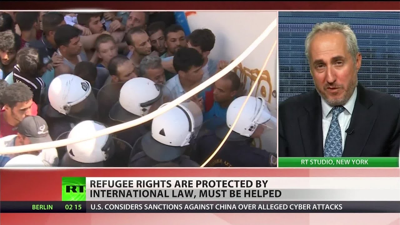 'Harrowing, heartbreaking': Refugees arriving in EU deserve respect – UN spokesperson to RT