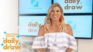 Daily Draw $500 winner with Trish Suhr | June 19th, 2018 | Game Show Network