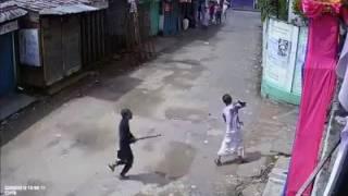 bangladesh silet, hindu temple  attack by  muslim