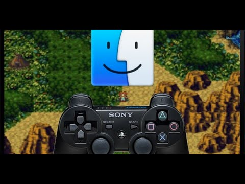 How to Connect PS3 controller on your MAC!