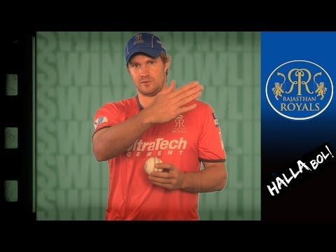 BOWLING: HOW TO SWING THE BALL   Royals Bowlers explain   How to play cricket