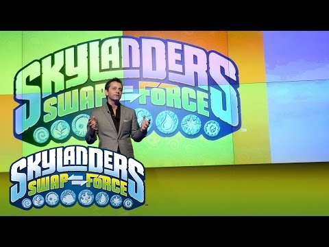 Worldwide Reveal: Official Skylanders SWAP Force