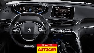 Promoted: The PEUGEOT 3008 SUV – i-Cockpit® | Autocar